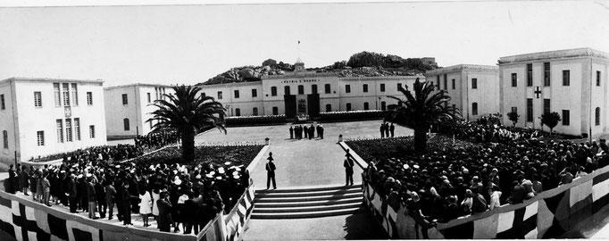 1968 - Panoramica del giuramento