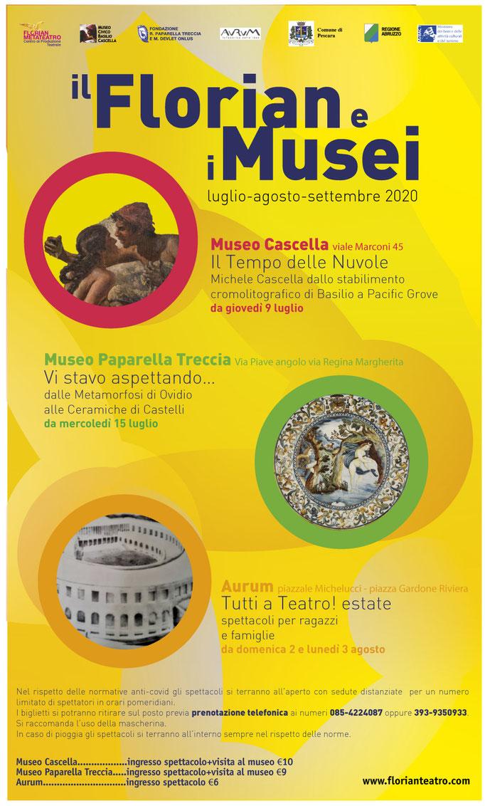 IL FLORIAN E I MUSEI - ESTATE 2020