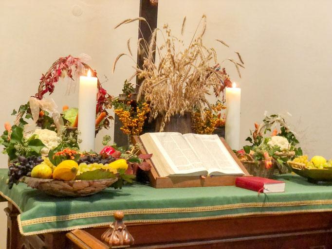 Gottesdienst zum Erntedankfest (3.10.2021)