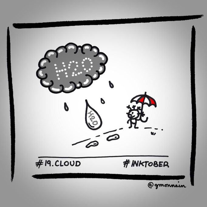 """Oh my #cloud ! Thanks for your #water !"""