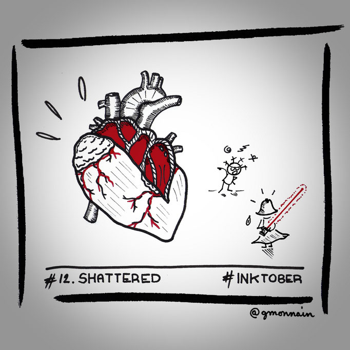 Why have you #shattered this #heart ?