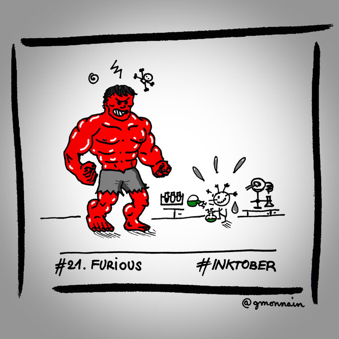 """""""Don't get #furious , it must be a pH issue...I hope..."""""""