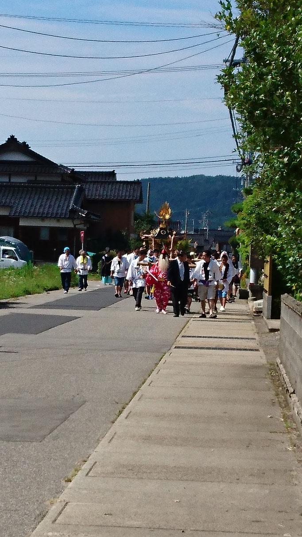 町祭 七尾市中島町熊野地区