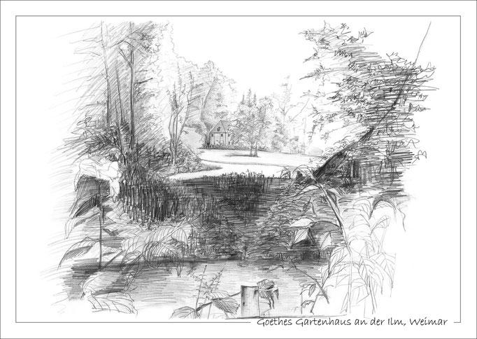 Goethes Gartenhaus an der Ilm