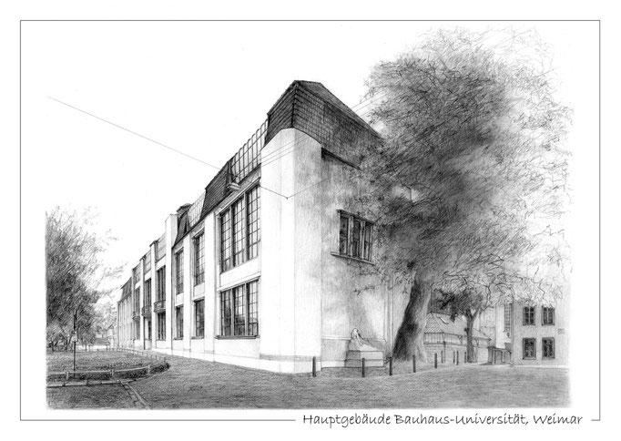 Hauptgebäude Bauhaus-Universität