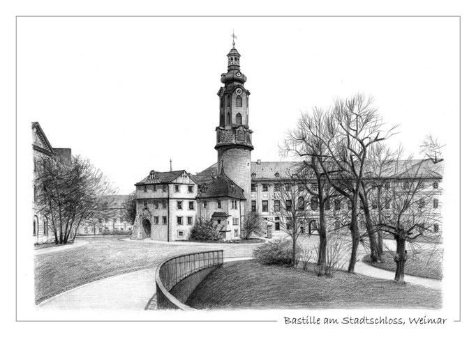 Bastille am Stadtschloss