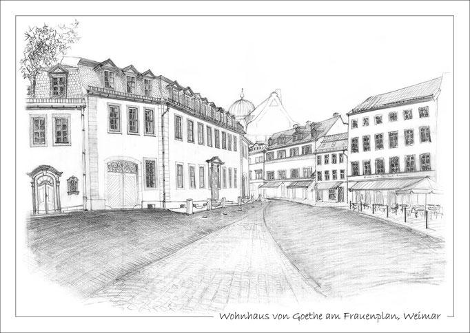 Wohnhaus von Goethe am Frauenplan
