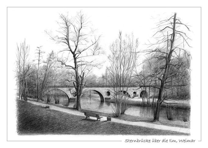 Sternbrücke über die Ilm