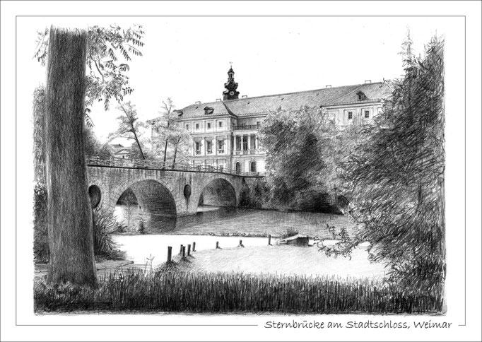 Sternbrücke am Stadtschloss