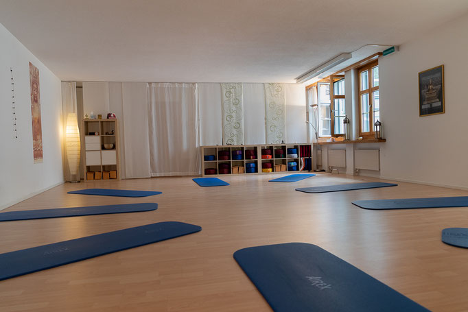 """Übungsraum Yogaschule """"just-YOGA"""", Schaffhausen"""