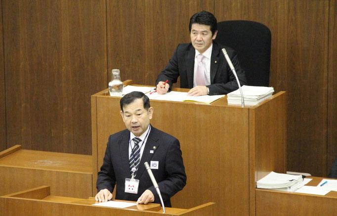 市長の施政方針演説