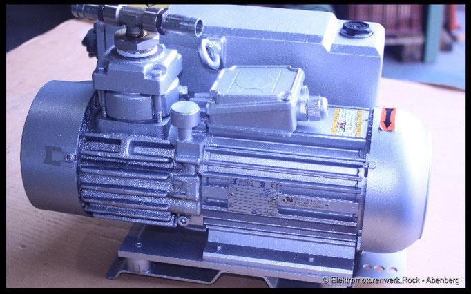 © Vakuum-Pumpen reparieren Elektromotoren - Reparaturwerk Rock GmbH Abenberg (Bild 1)