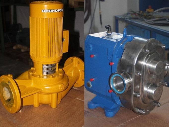 © Elektromotoren - Reparaturwerk Rock Bild: Kreiselpumpen-Standrohrpumpen / Pumpen  reparieren