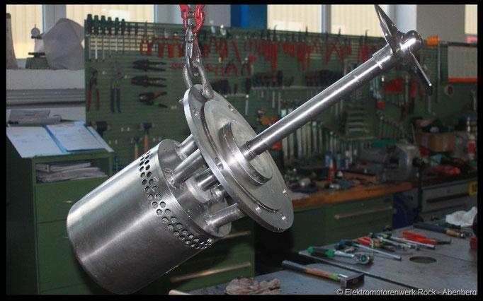 © Tauch - Rührwerke reparieren Elektromotoren - Reparaturwerk Rock GmbH Abenberg (Bild 1)