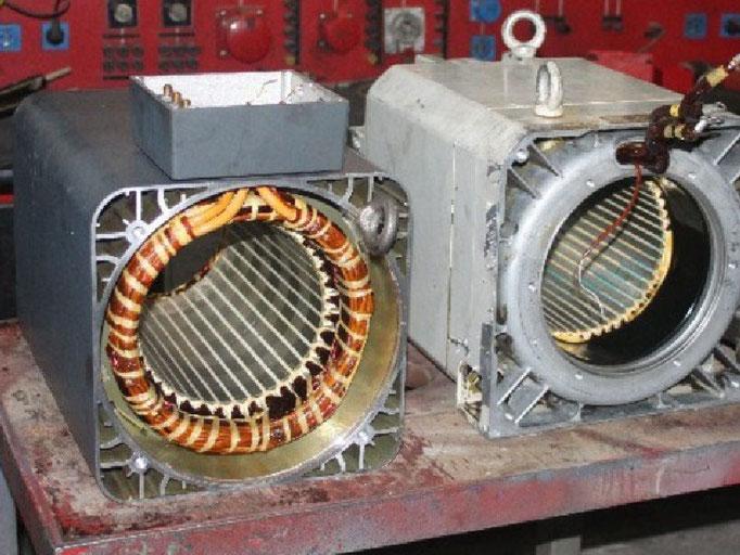 Hauptspindelmotoren schnell reparieren lassen bei Elektromotoren Rock Reparaturwerk GmbH