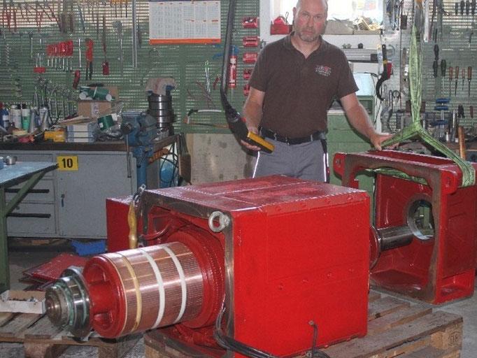 Gleichstrommotoren schnell reparieren lassen bei Elektromotoren Rock Reparaturwerk GmbH Motoren
