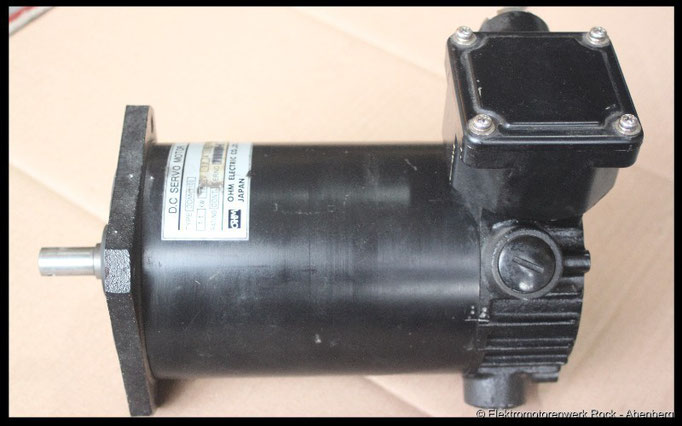 © DC - Permanent Servomotor reparieren Elektromotoren - Reparaturwerk Rock GmbH Abenberg (Bild 1)