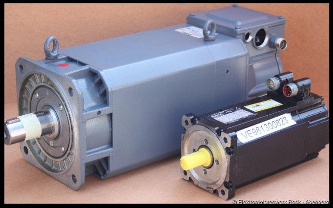 © AC - Servo - Motor reparieren Elektromotoren - Reparaturwerk Rock GmbH Abenberg (Bild 1)
