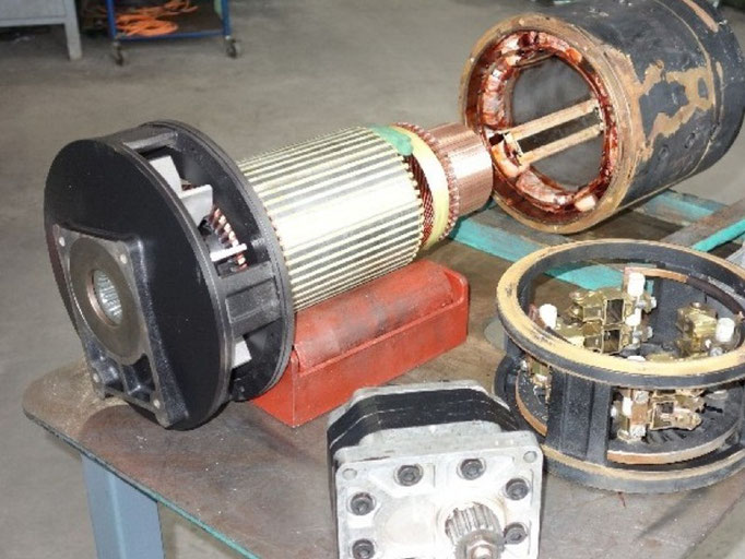 © Reparatur von DC - Staplermotoren bei Elektromotoren - Reparaturwerk Rock (Bild 1)