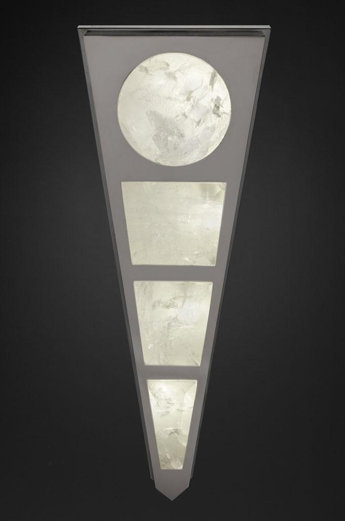 ROCK CRYSTAL WALL LIGHT