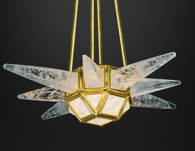 STARBURST CHANDELIER BY ALEXANDRE VOSSION