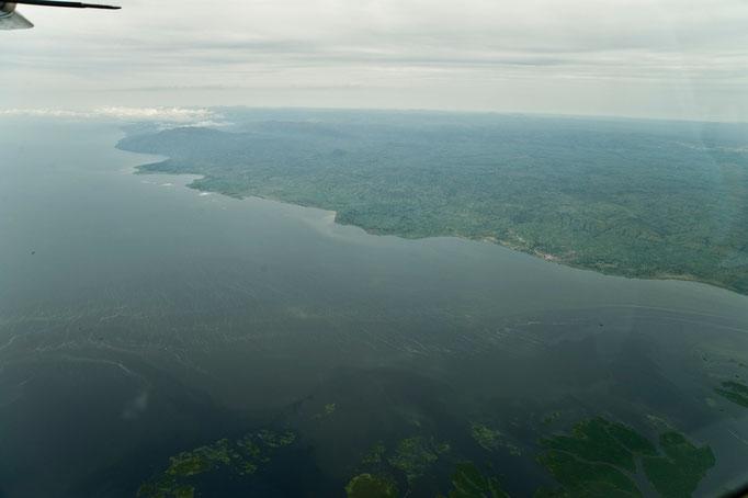 Lake Albert von oben