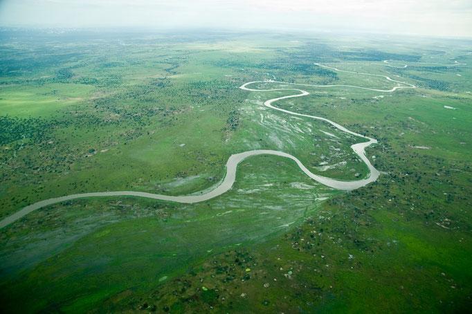 Südsudan von oben