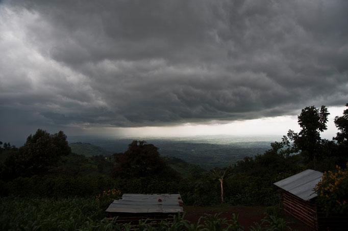 Gewitterstimmung beim Mt.  Elgon