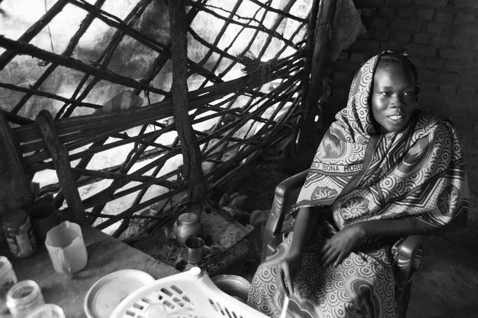 Kaffeekochen im Südsudan