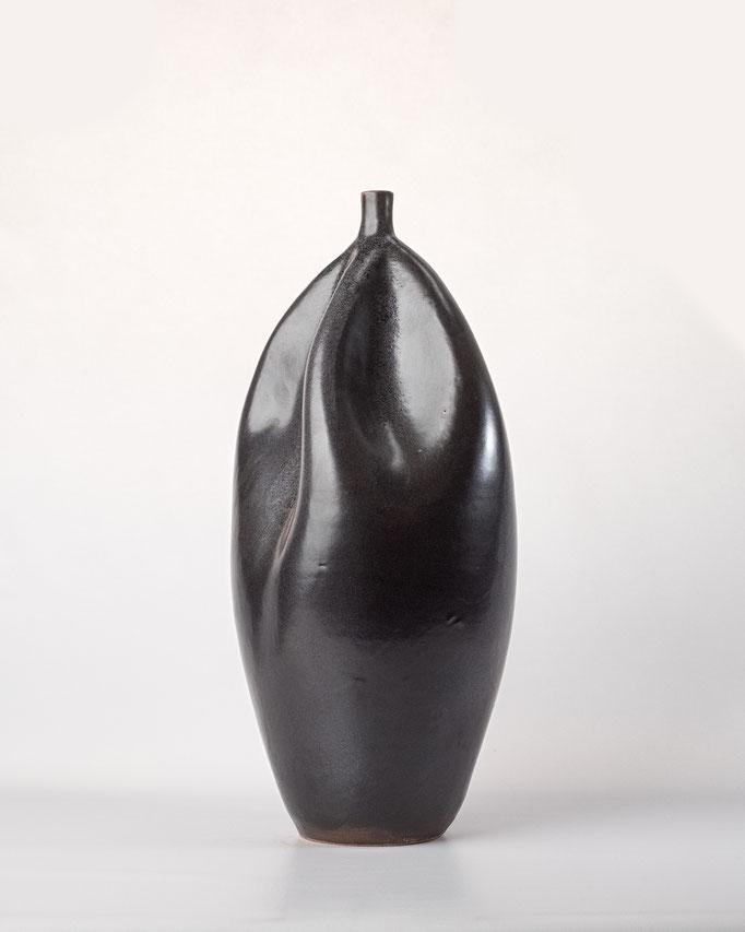 Jarrón artesanal de Terracota, obra artística, artesanos del Aljarafe, artesanía de Sevilla
