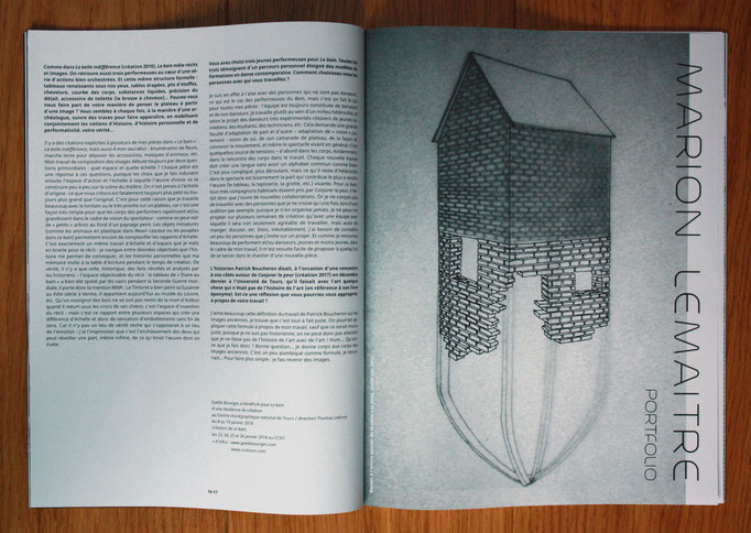Revue LAURA n°24, portfolio, 2018.