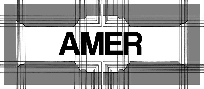 Amer, dessin technique mixte, 30x15 cm, 2018.
