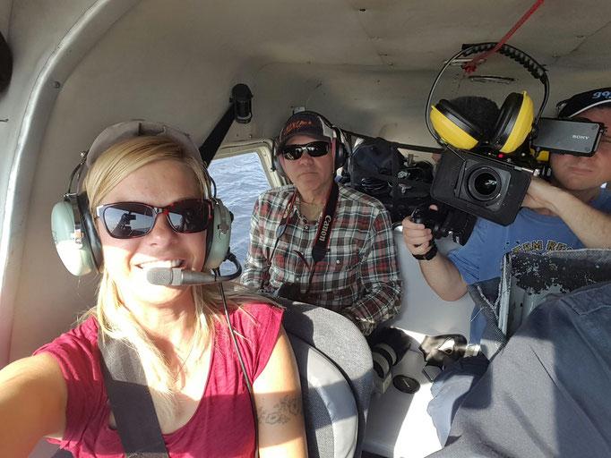 Mit dem Waserflugzeug in die Wildnis