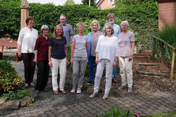 Das ehreamtliche Gartenpflegeteam
