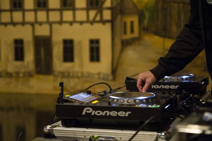 Auch für gute Musik war dank eines DJ's gesorgt.