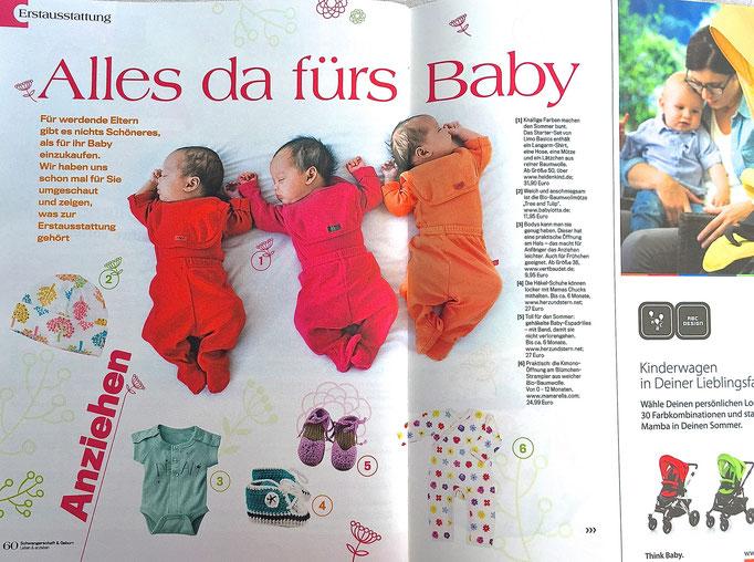 herz&stern - Schwangerschaft & Geburt Juni 2015, Baby Espadrilles und Chucks