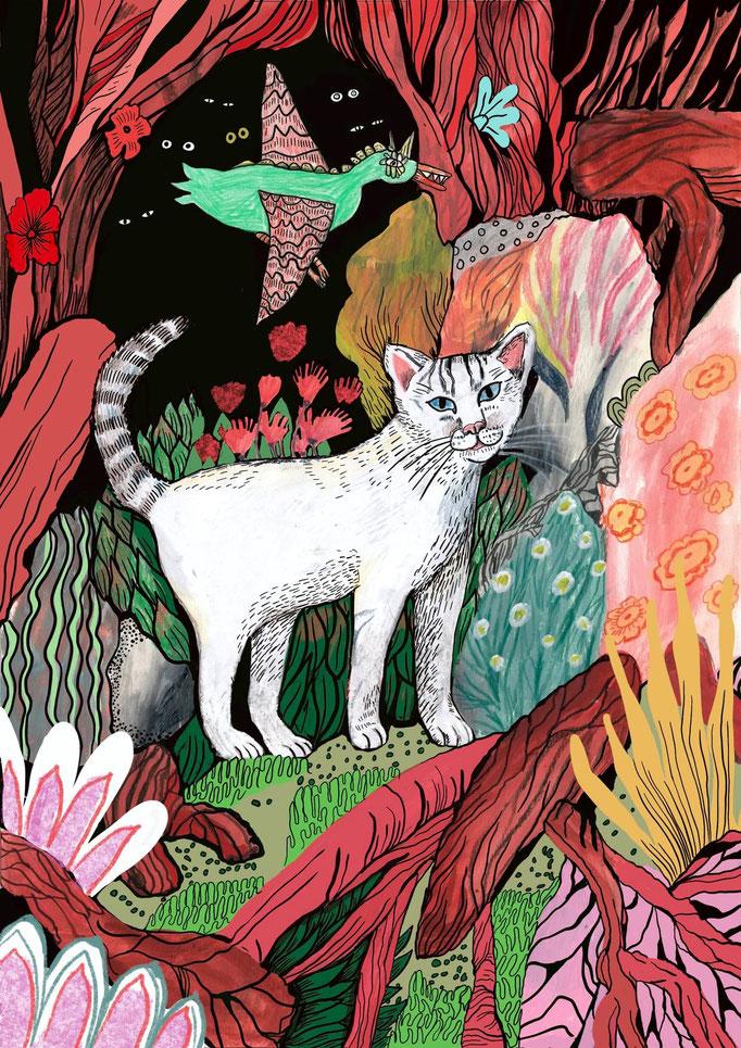 Im Rahmen des Bolo Klubs entstandenes Bild für ein Kinderbuch. 2020