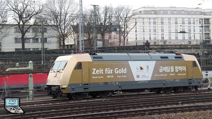 """101 071, DB, """"Zeit für Gold"""""""