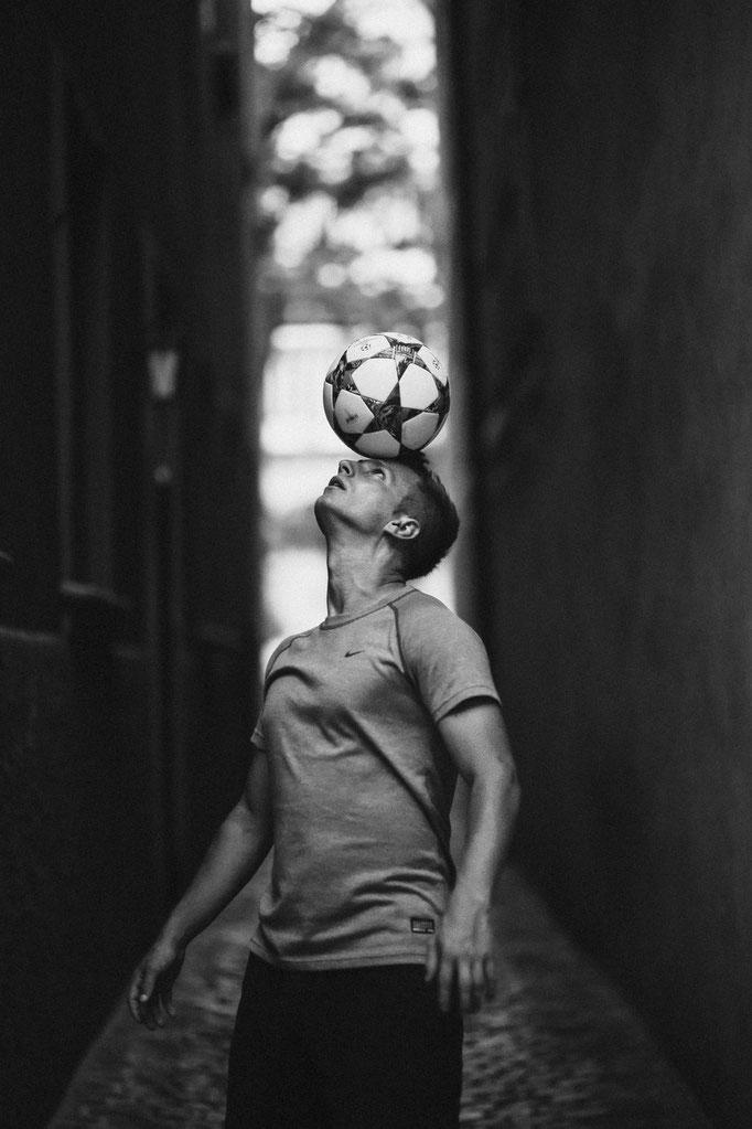 Headstall Ricardo Rehländer Freestyle Football