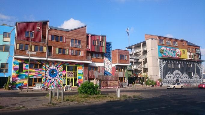 Holzmarktquartier in Berlin von der Holzmarktstraße - © LNC GmbH