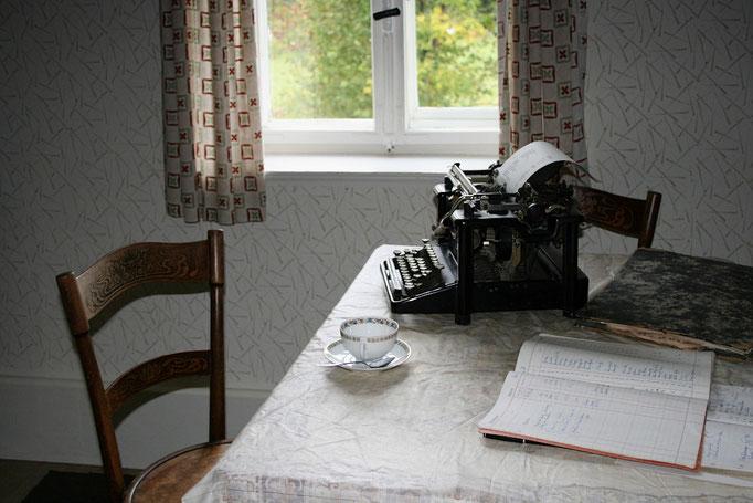 Büro in Küche