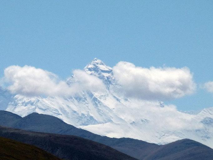 Mount Everest, erster Blick
