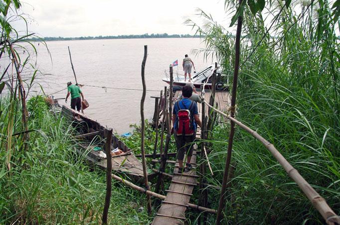 kambodschanischer Grenzposten
