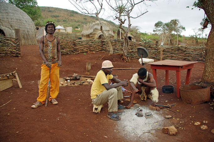 Dorf Mzamo