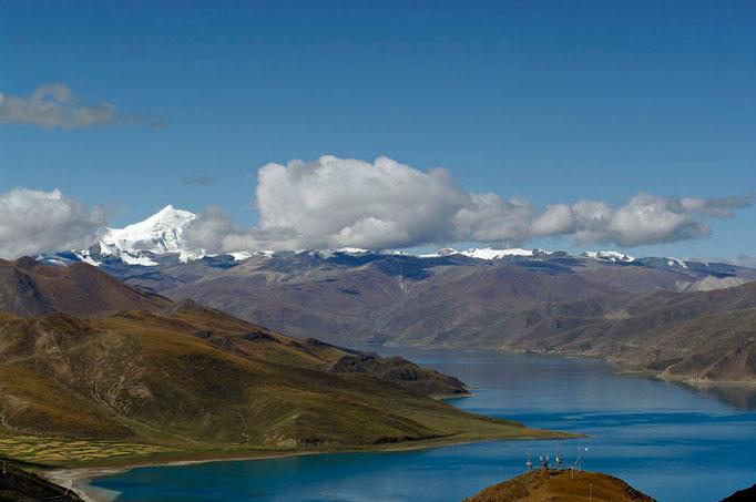 Yamdrok-See vom Khamba La Pass (4794 m)