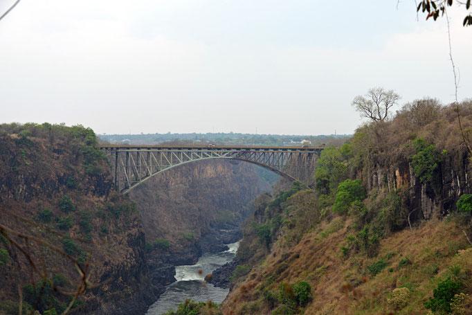 Grenzbrücke zu Simbabwe