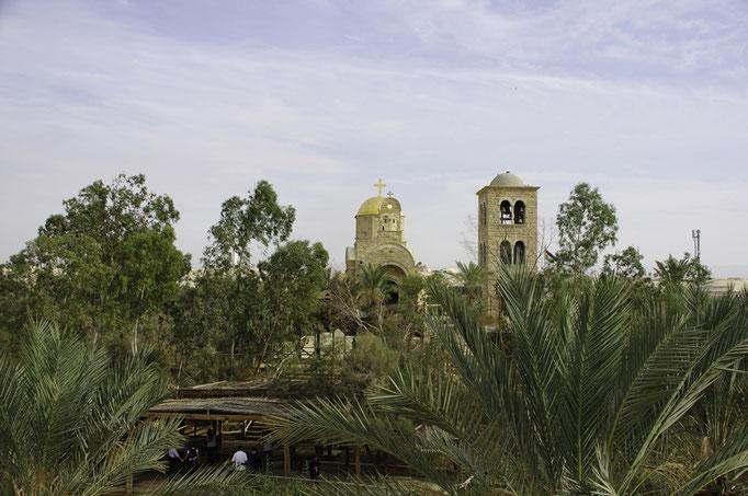 Quasr el Yahud, Blick nach Jordanien