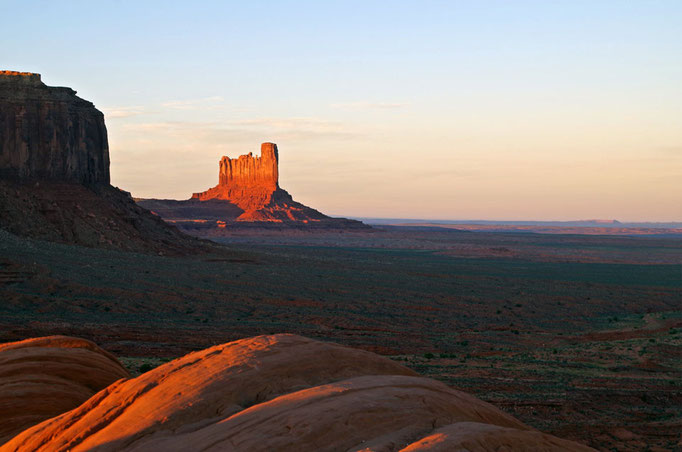 Sonnenuntergang im Monument Valley