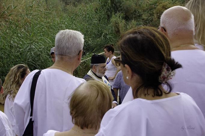 Quasr el Yahud, Taufzeremonie