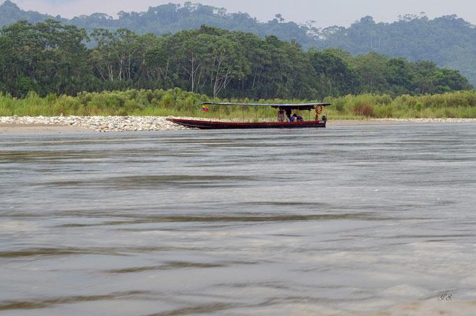 Auf dem Rio Napo